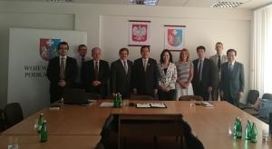 Wicemarszałek Województwa Podkarpackiego Pan Wojciech Buczak przyjmuje delegację Tajwanu
